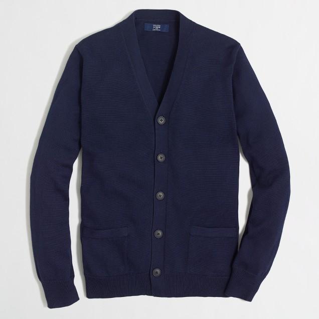 Cotton Cardigan Sweater : Men's Sweaters | J.Crew Factory