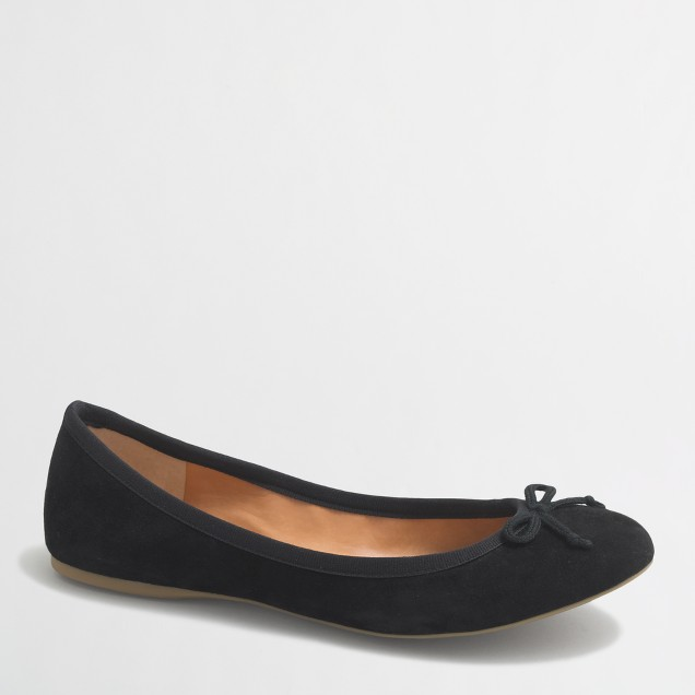 Classic suede ballet flats