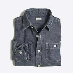 Kids' classic chambray shirt