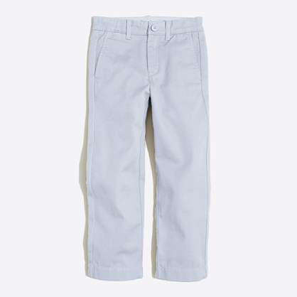 Boys' straight chino