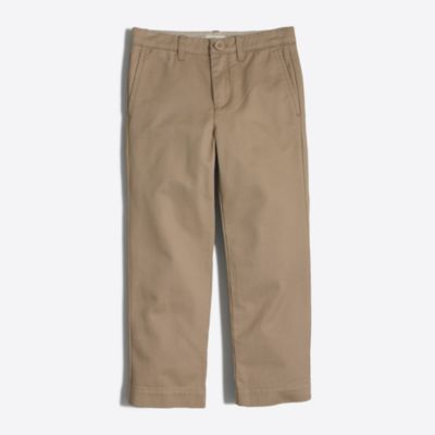 Boys' straight chino factoryboys pants & shorts c