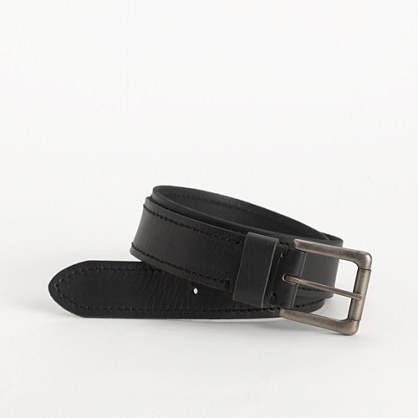 Factory vintage leather belt