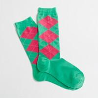Factory argyle socks