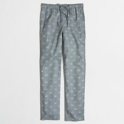 Polar bear flannel pajama pant
