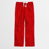Factory snowflake flannel sleep pant