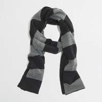 Factory reversible rugby scarf