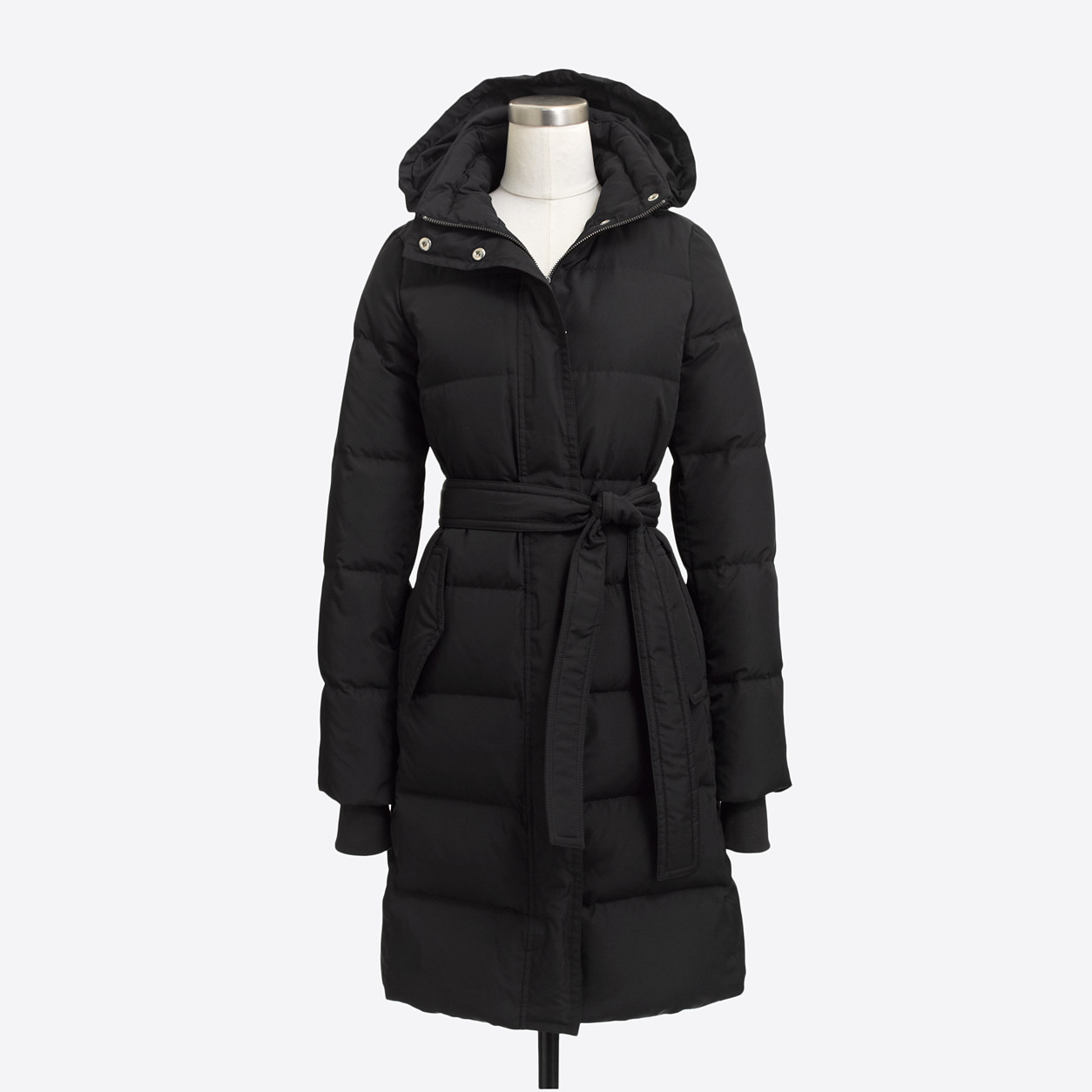 Long Belted Puffer Jacket : Women's Jackets & Coats | J.Crew