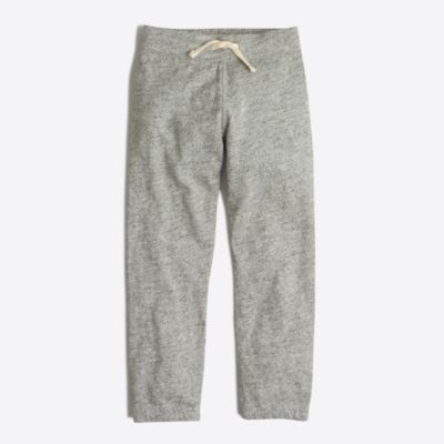 Boys' heathered sweatpant factoryboys pants & shorts c