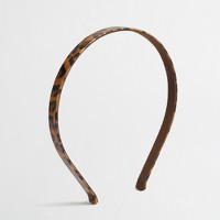 Factory girls' patent tortoise headband