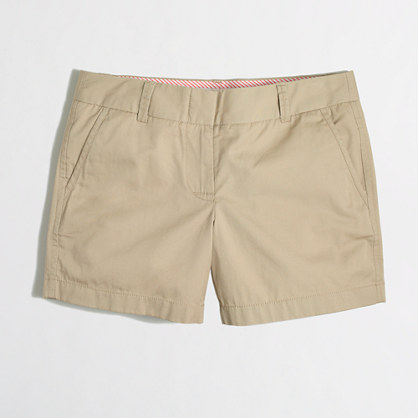 "Factory 5"" chino short"