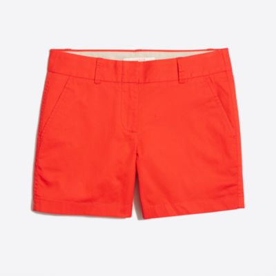 "5"" chino short factorywomen shorts c"