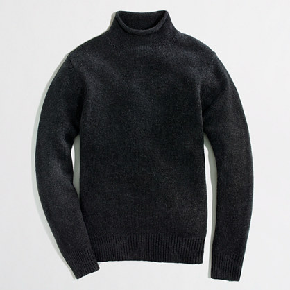 Factory Lambswool Rollneck Sweater Lambswool J Crew