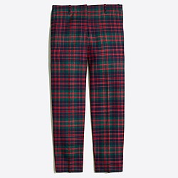 Skimmer pant in plaid