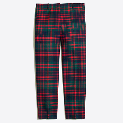 Skimmer Pant In Plaid : Women's Pants | J.Crew