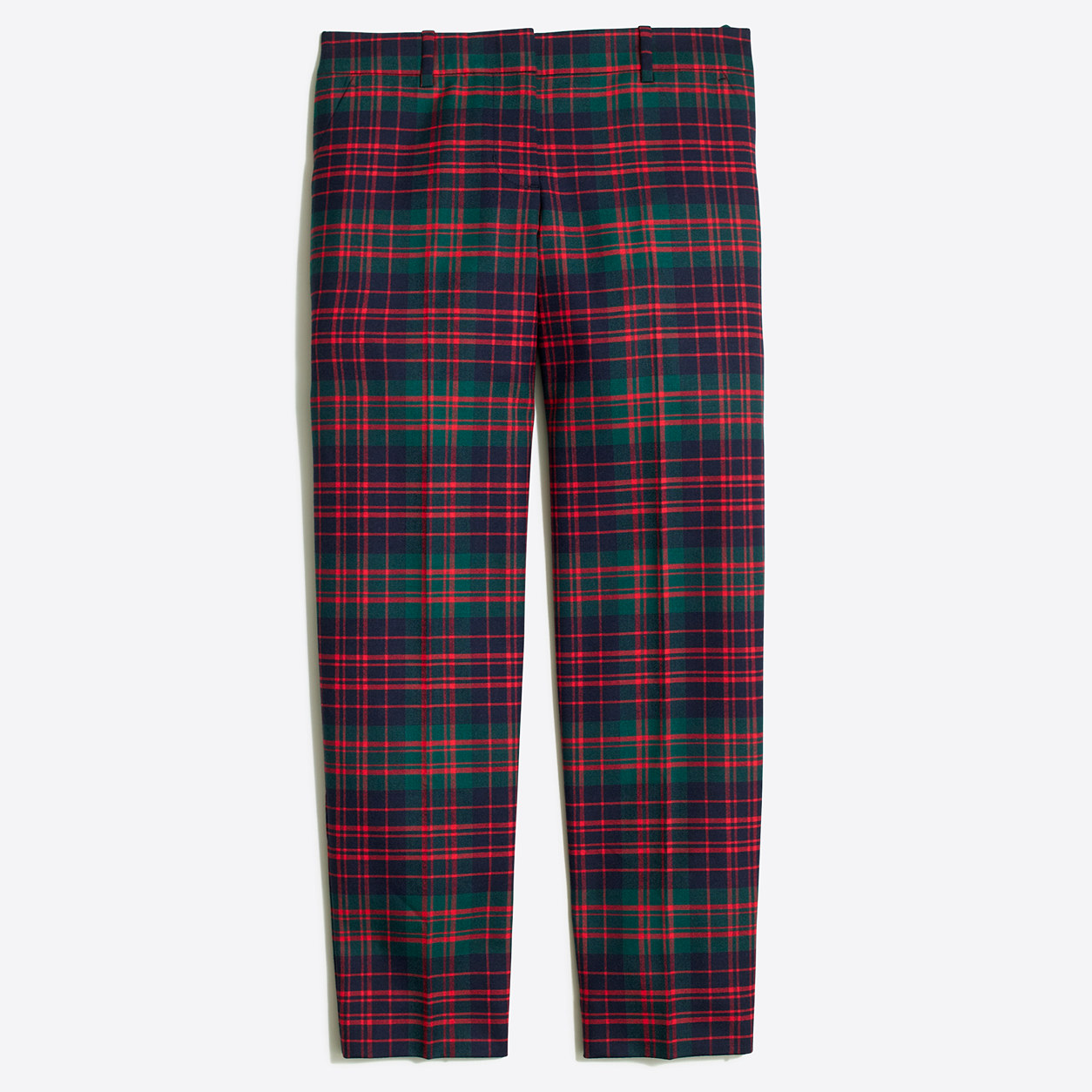 Skimmer Pant In Plaid : Women's Pants | J.Crew