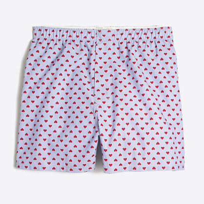 Flipped hearts boxers