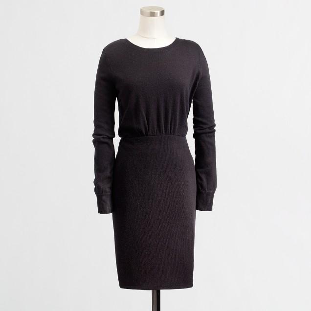 Factory warmspun sweater-dress