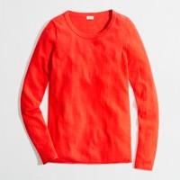 Factory warmspun long-sleeve sweater