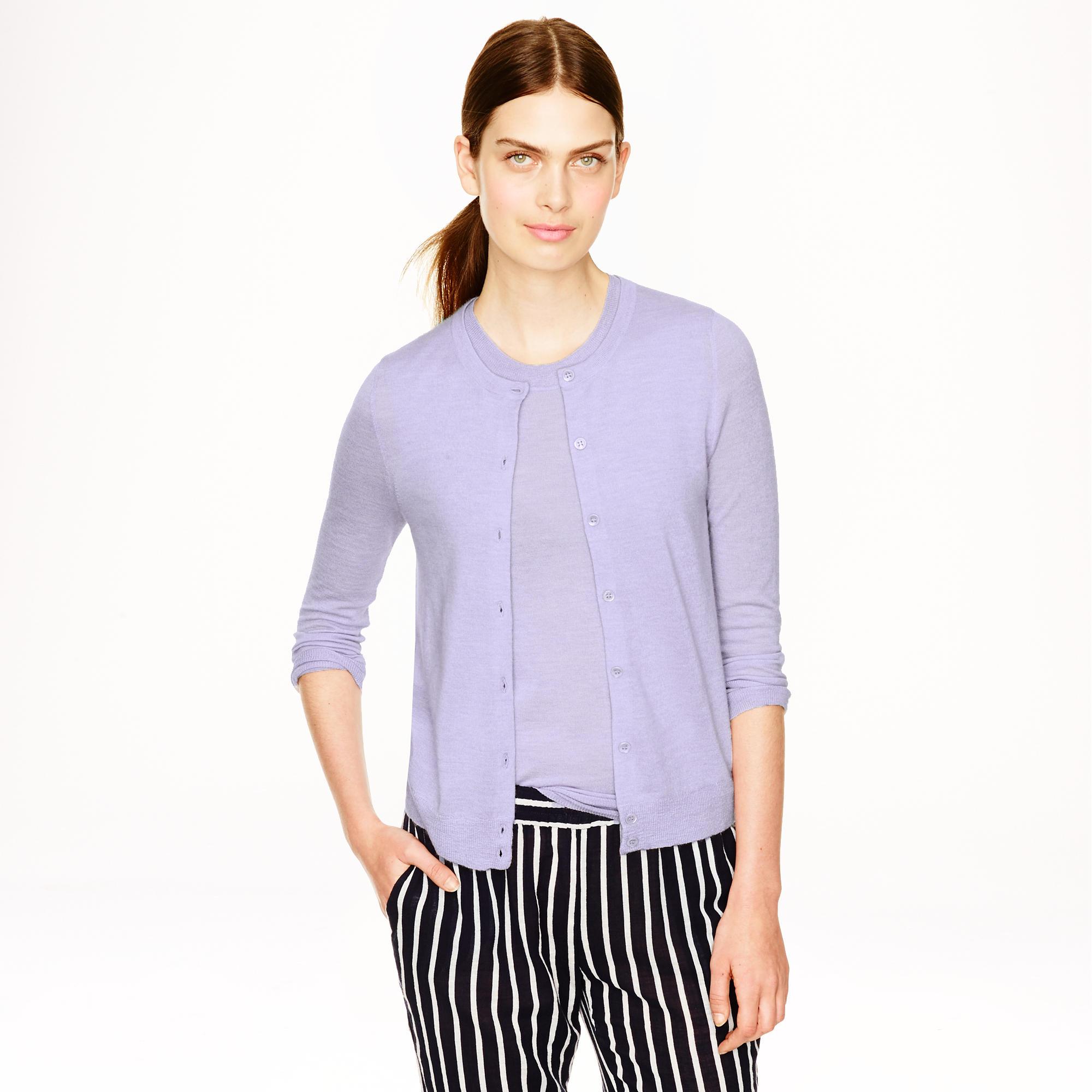 Italian featherweight cashmere cardigan sweater : Women Cardigans ...