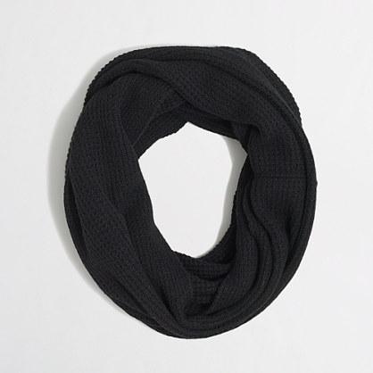 Waffle infinity scarf
