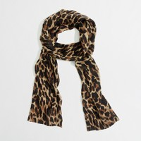 Factory leopard scarf