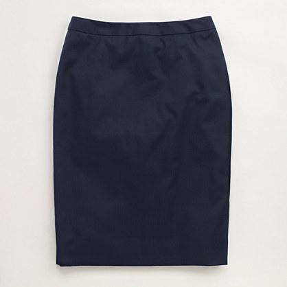 Factory cotton pencil skirt