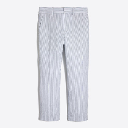 Boys' Thompson suit pant in seersucker