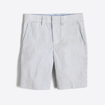 Boys' Gramercy short in seersucker