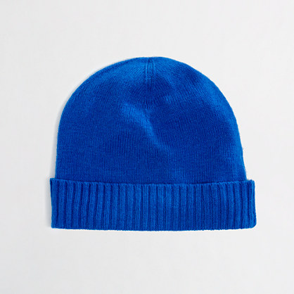 Factory warmspun ribbed hat