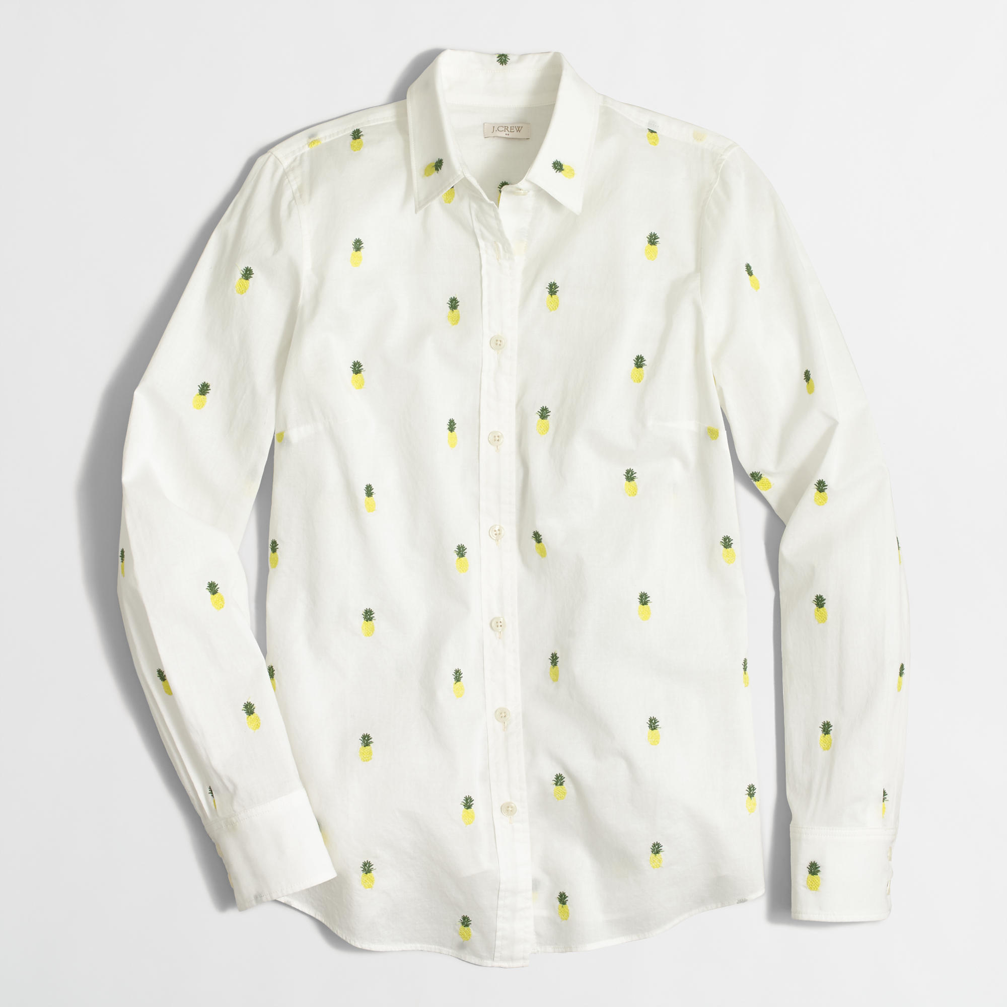 Women 39 s classic button down shirt in printed cotton for How to make a printed shirt