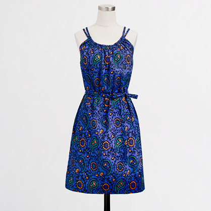 Factory belted sundress