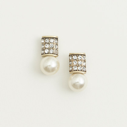 Factory lightbulb stud earrings