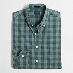 Slim tall washed shirt