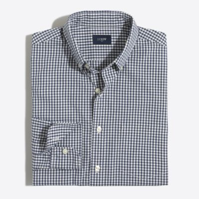 Washed shirt in gingham factorymen the score: washed shirts c