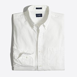 Slim washed shirt