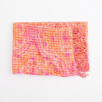Factory perfect printed scarf