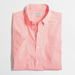 Factory short-sleeve washed shirt