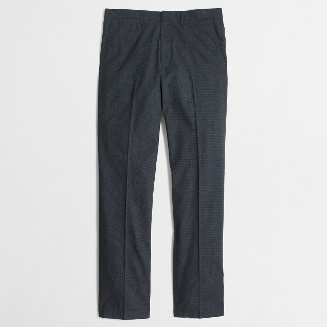 Bedford heathered cotton dress pant