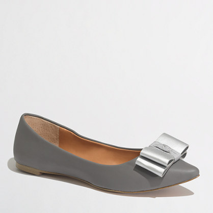 Factory Emery contrast bow flats