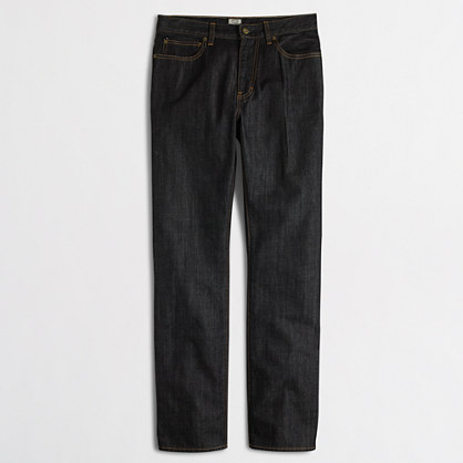 Factory Bleecker jean in black wash