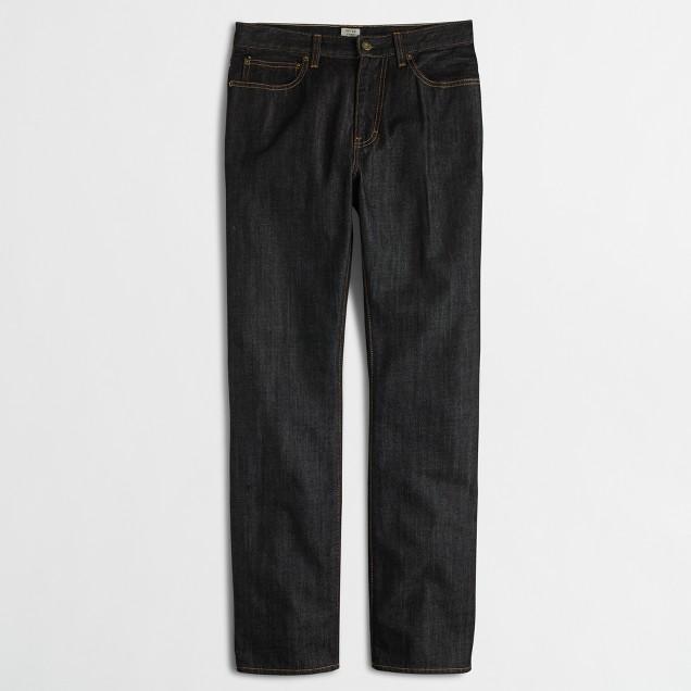 Factory Bleecker jean in black wash