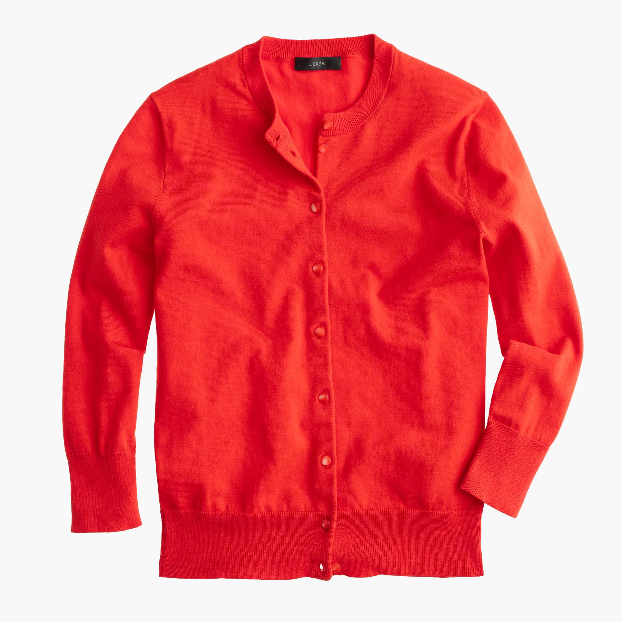 Cotton Jackie cardigan sweater : Women Cardigans & Shells | Factory