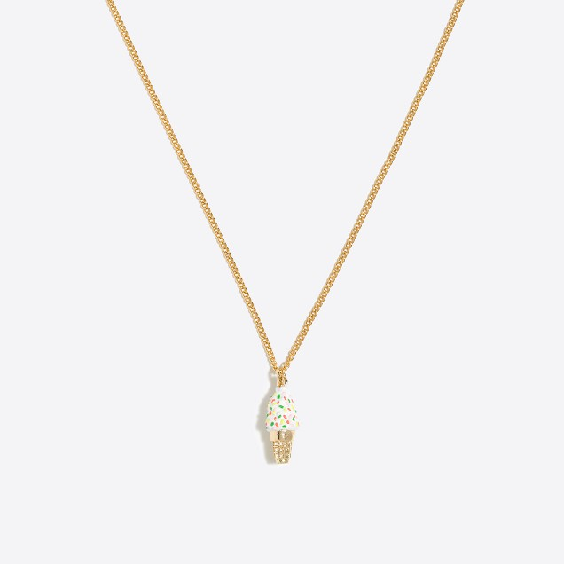 Girls' critter chain necklace