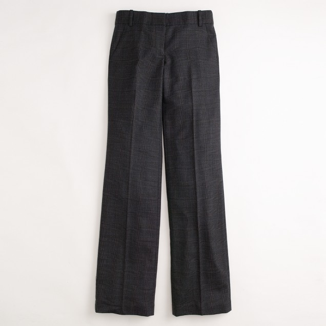 Factory stretch wool flannel Addison trouser