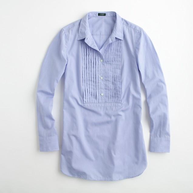 Factory cotton tuxedo tunic