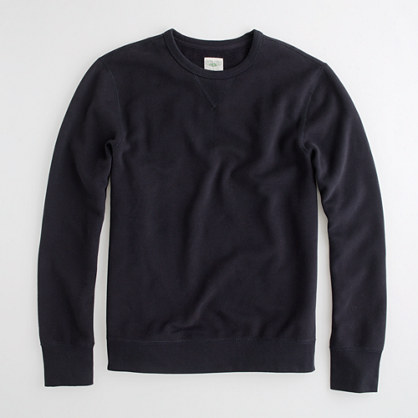 Factory fleece crewneck sweatshirt