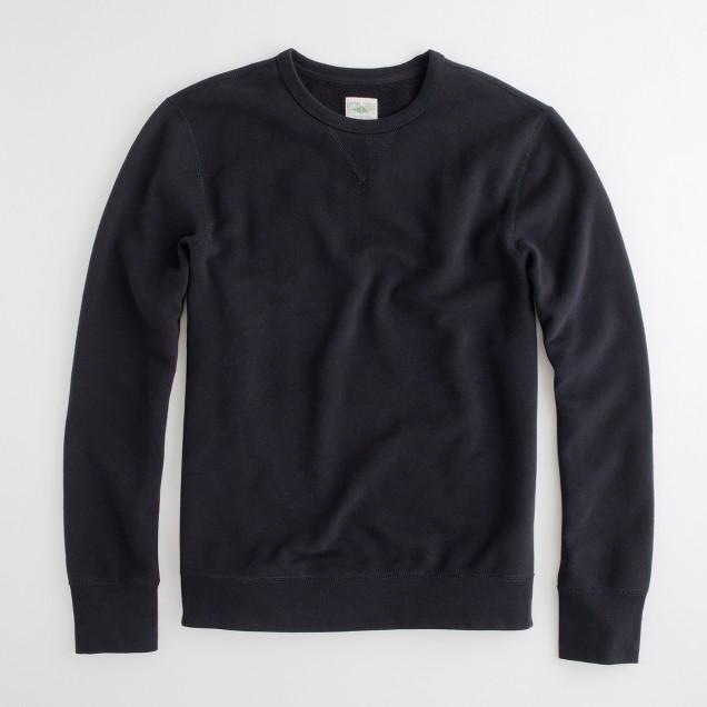 Factory fleece crewneck sweatshirt