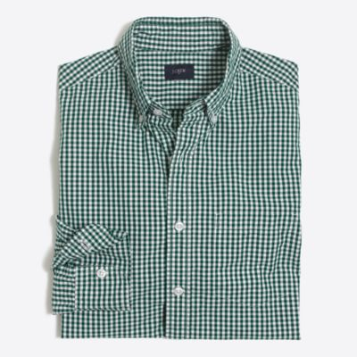 Washed shirt in tattersall factorymen extra-nice list deals c