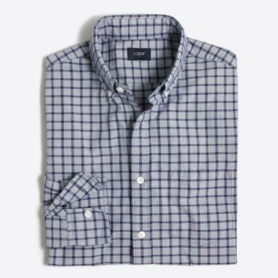 Washed shirt in tattersall   sale