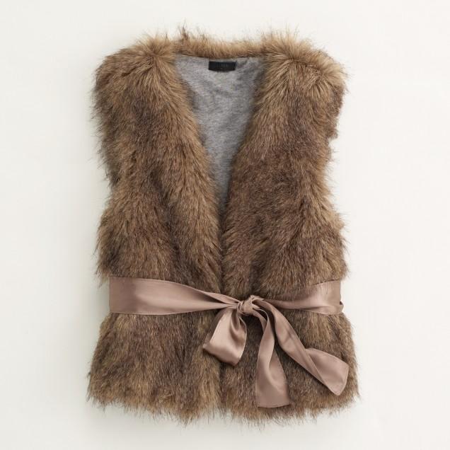 Factory fur vest